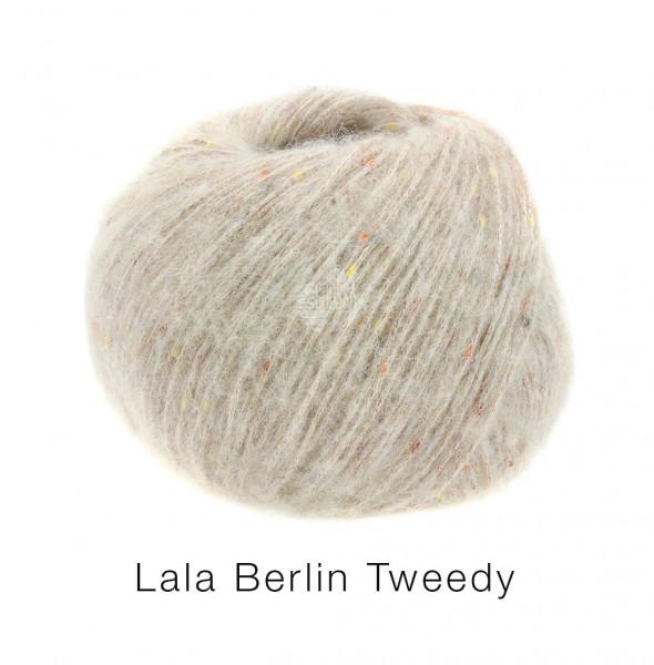 Lana Grossa lala Berlin Tweedy 003 beige 50g