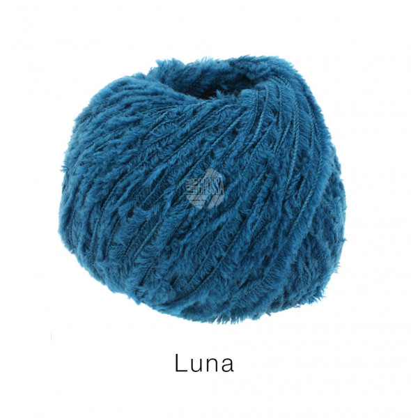 Lana Grossa Luna 013 Blaupetrol 50g