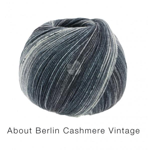 Lana Grossa About Berlin Meilenweit 100 Cashmere Vintage 823 Grautöne 100g