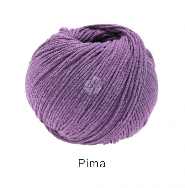 Lana Grossa Pima 004 Pflaume 50g