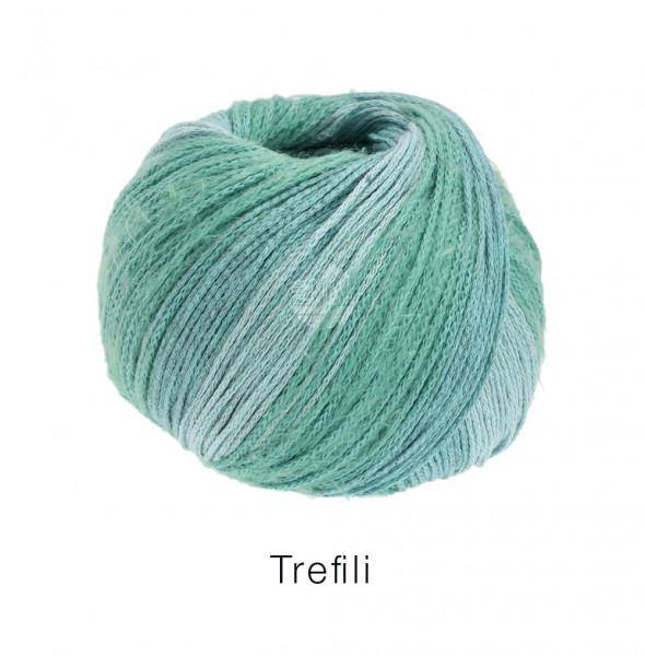 Lana Grossa Trefili 006 Mint/Eisblau 50g