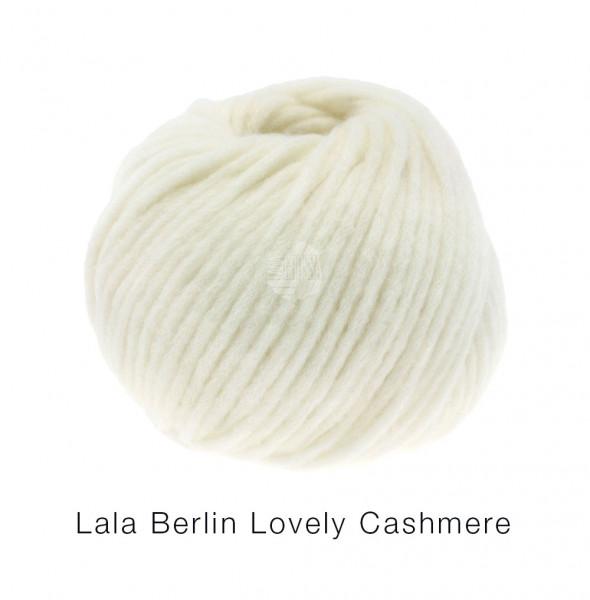 lana Grossa lala BERLIN LOVELY CASHMERE 0007 Rohweiß 25g