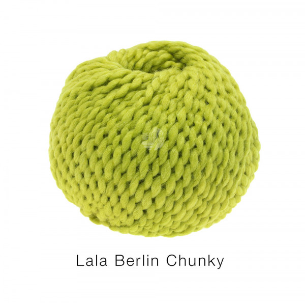 Lana Grossa lala BERLIN CHUNKY 0009 Kiwigrün 50g