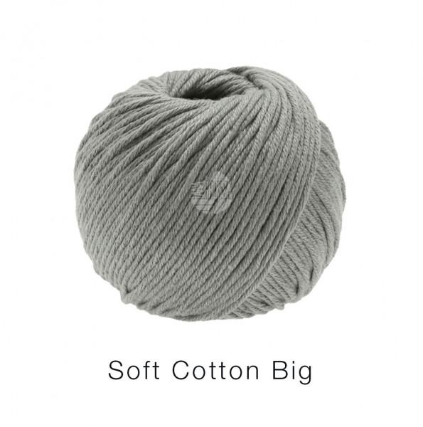 Lana Grossa Soft Cotton Big 024 Grau 50g