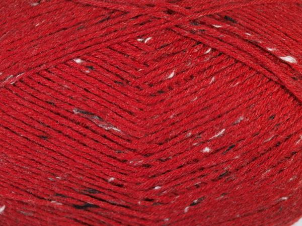Lana Grossa Meilenweit 6-fach 150 Tweed 9239 Rot/Bunt 150g
