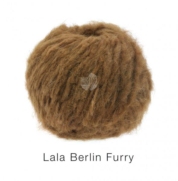 Lana Grossa lala BERLIN FURRY 0004 Braun 50g