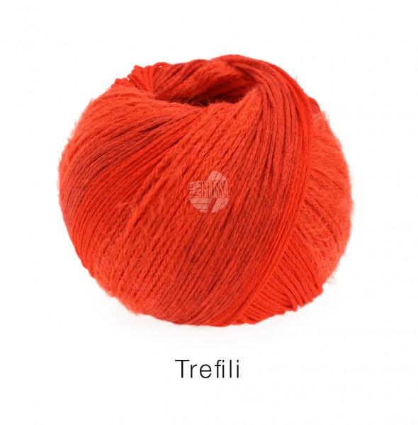 Lana Grossa Trefili 005 Orangerot/Koralle 50g