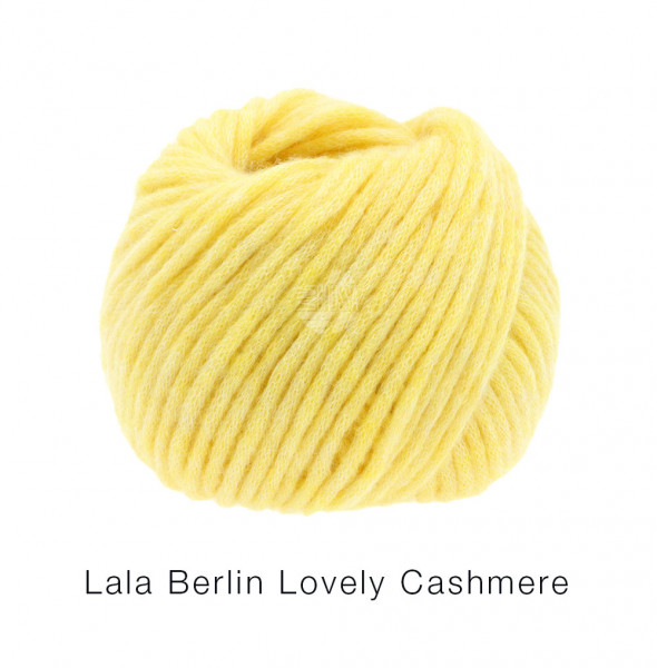 Lana Grossa lala Berlin Lovely Cashmere 013 Gelb 25g