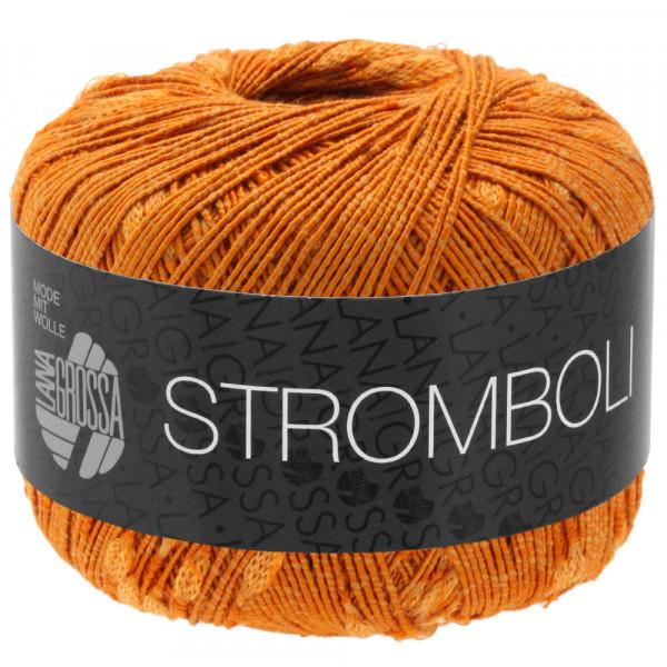 Lana Grossa Stromboli 111 Orangebraun 50g
