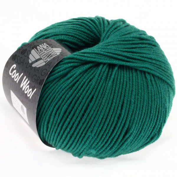 Lana Grossa Cool Wool 2000 2015 Petrol 50g