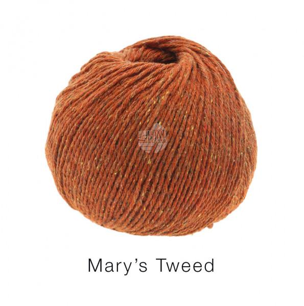 Lana Grossa Mary's Tweed 006 Rost 50g