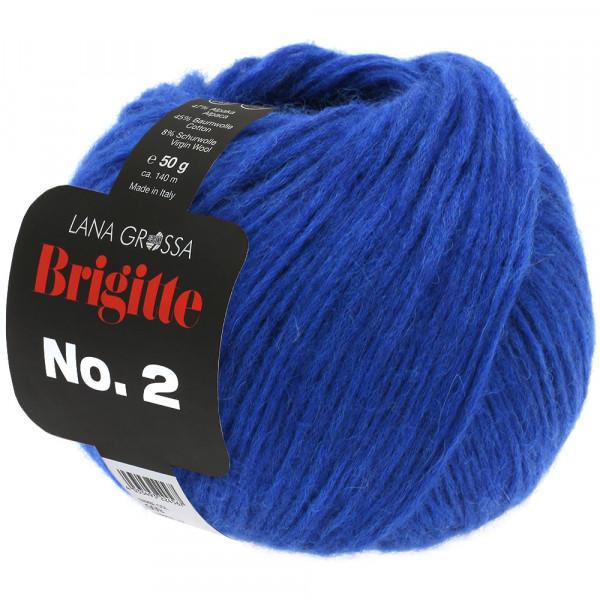 Lana Grossa Brigitte No.2 030 Tintenblau 50g