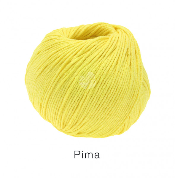 Lana Grossa Pima 011 Gelb 50g