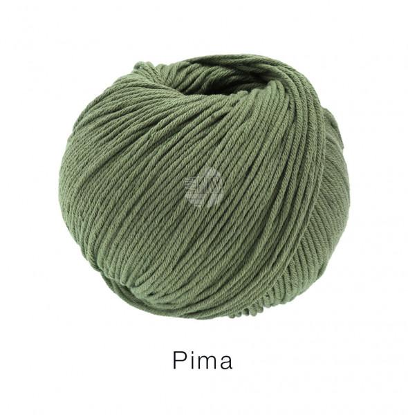 Lana Grossa Pima 016 Khakigrün 50g