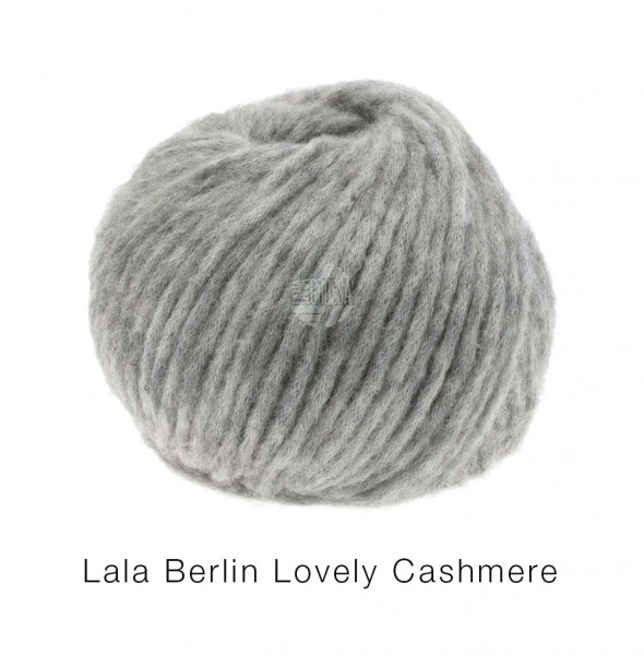 Lana Grossa lala BERLIN LOVELY CASHMERE 009 Grau/Beige 25g