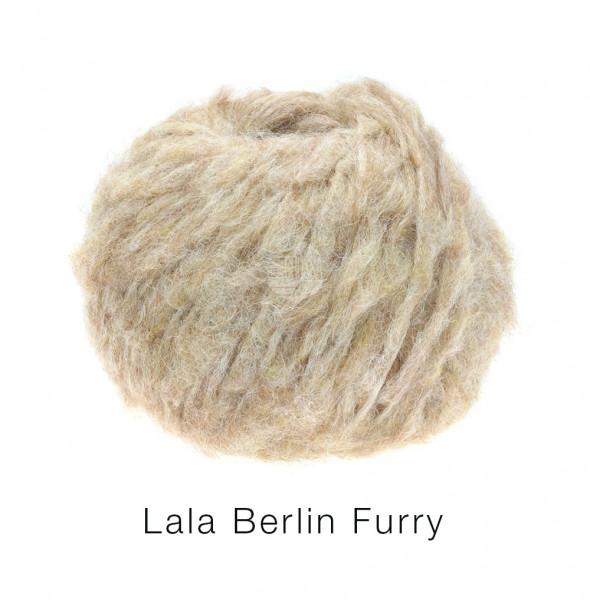 Lana Grossa lala BERLIN FURRY 0002 Beige 50g