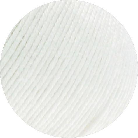 Lana Grossa Soft Cotton 010 Weiß 50g