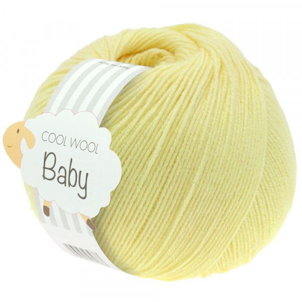 Lana Grossa Cool Wool Baby 218 Vanille 50g