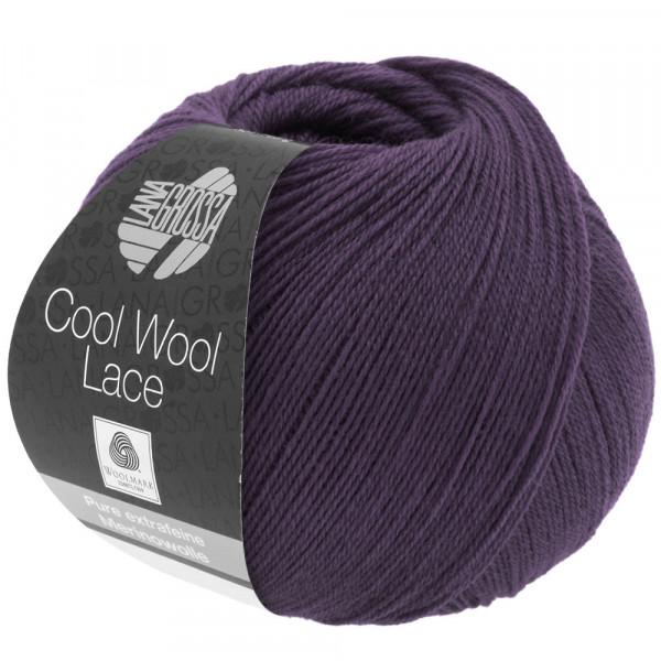 Lana Grossa Cool Wool Lace 018 Aubergine 50g