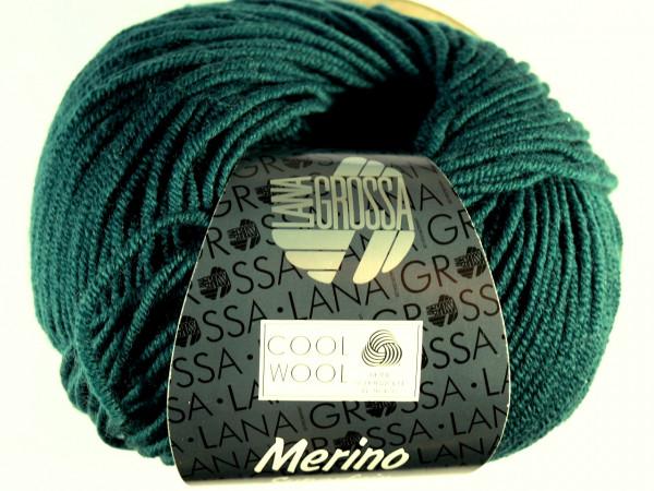 Lana Grossa Cool Wool 2000 501 Flaschengrün 50g