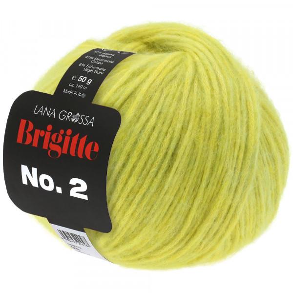 Lana Grossa Brigitte No.2 017 gelbgrün 50g