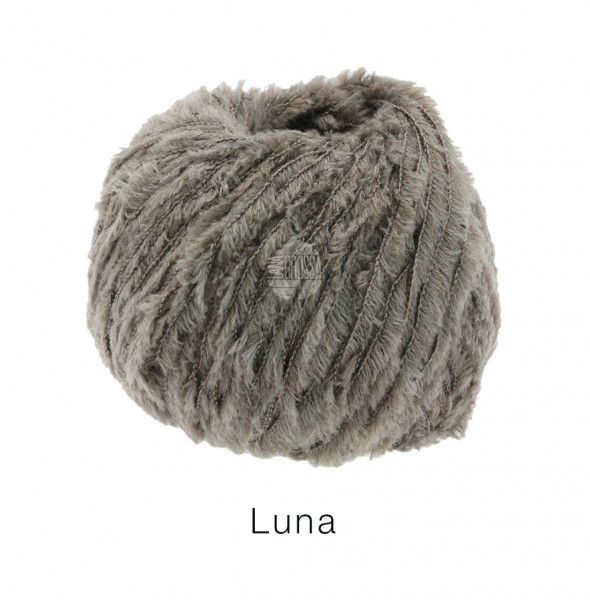 Lana Grossa Luna 012 Taupe 50g