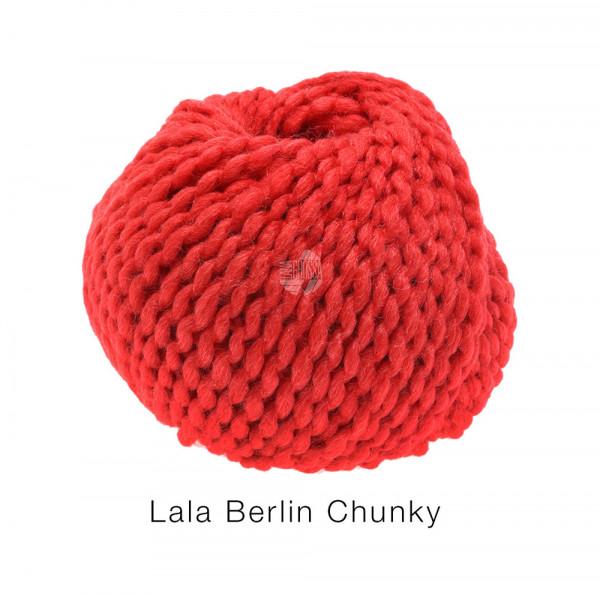Lana Grossa lala BERLIN CHUNKY 0004 Rot 50g