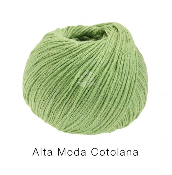 Lana Grossa Alta Moda Cotolana 010 Apfelgrün 50g