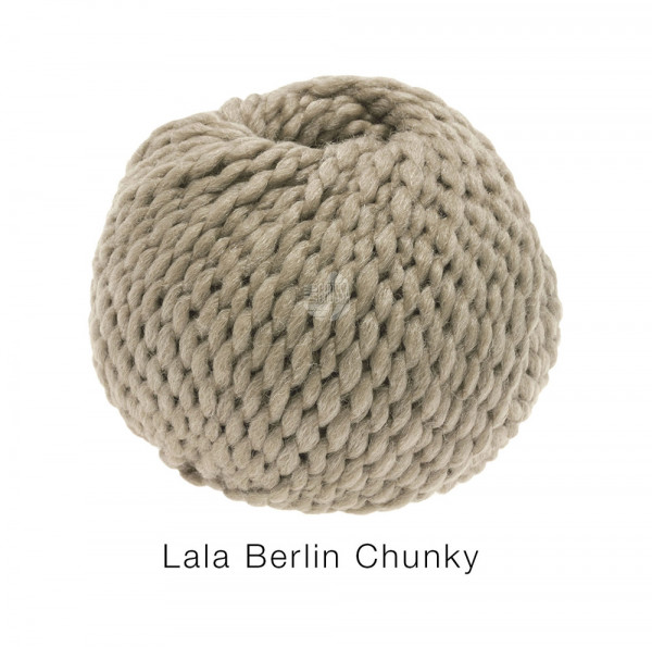 Lana Grossa lala BERLIN CHUNKY 0006 Taupe 50g