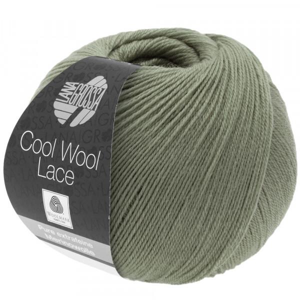 Lana Grossa Cool Wool Lace 007 Khaki 50g