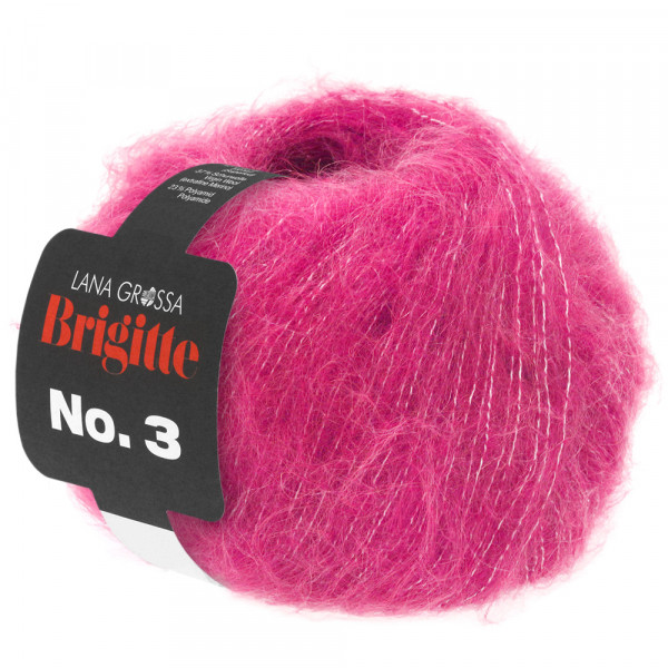 Lana Grossa Brigitte No.3 028 Pink 25g