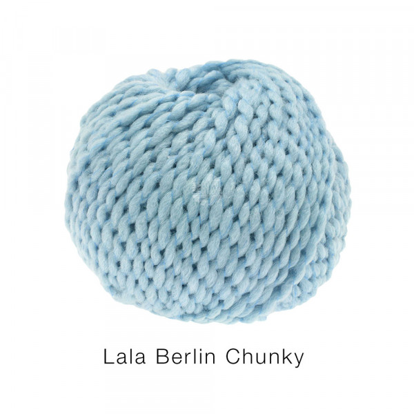 #Lana Grossa lala BERLIN CHUNKY 0007 Pastellblau 50g