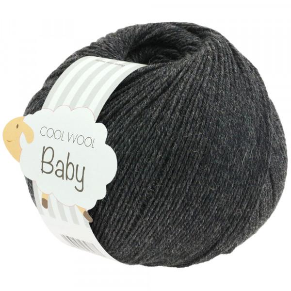 Lana Grossa Cool Wool Baby 205 Anthrazit 50g