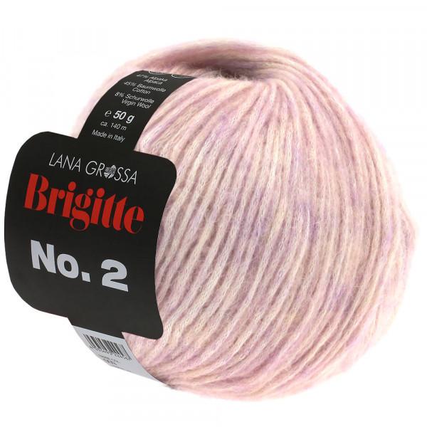 Lana Grossa Brigitte No.2 012 Altrosa 50g
