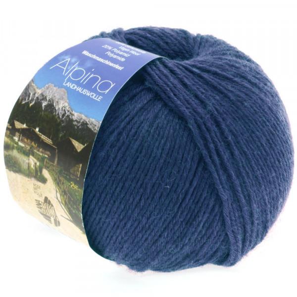 Lana Grossa Alpina Landhauswolle 022 Jeans 100g
