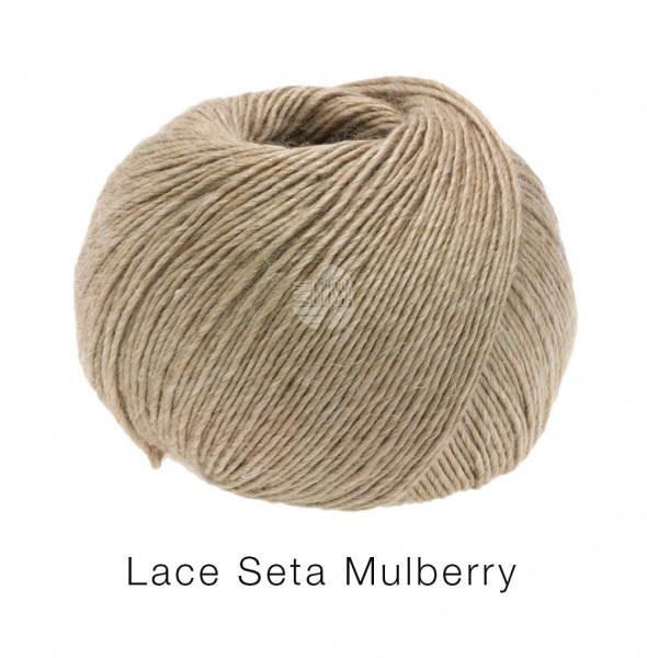 Lana Grossa Lace Seta Mulberry 012 Beige 50g