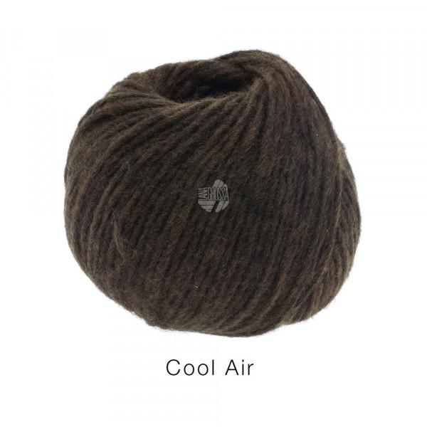 Lana Grossa COOL AIR 0021 Schwarzbraun 50g