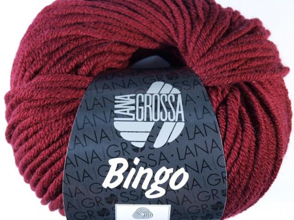 Lana Grossa Bingo 007 Weinrot 50g
