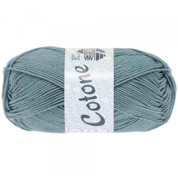 Lana Grossa Cotone 089 Blaugrau 50g
