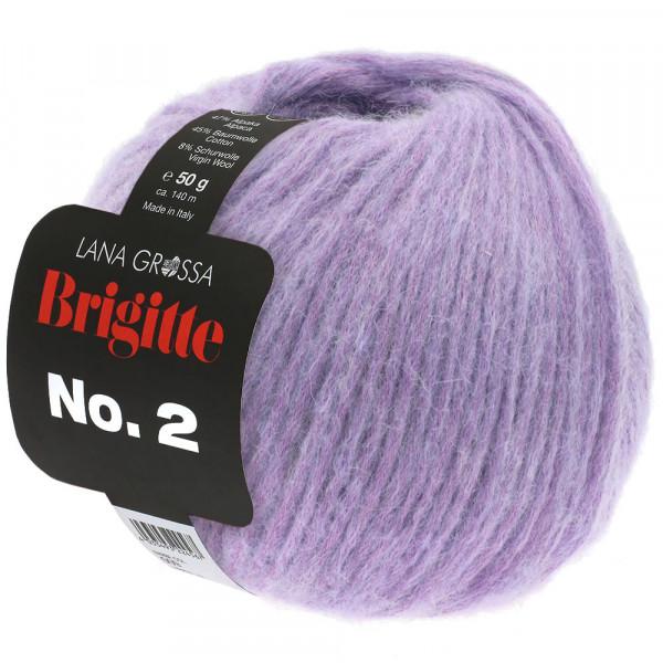 Lana Grossa BRIGITTE NO.2 026 Lila 50g