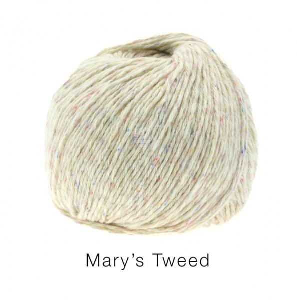 Lana Grossa Mary's Tweed 003 Natur meliert 50g