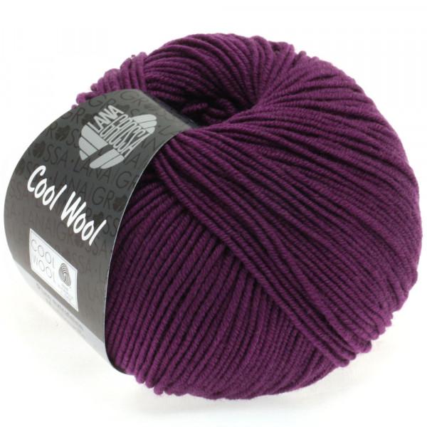 Lana Grossa Cool Wool 2000 2023 Dunkelviolett 50g