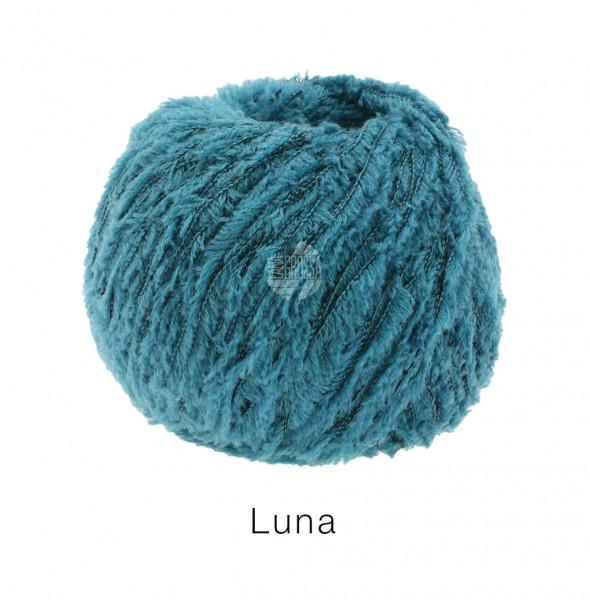 Lana Grossa Luna 014 Grünpetrol 50g