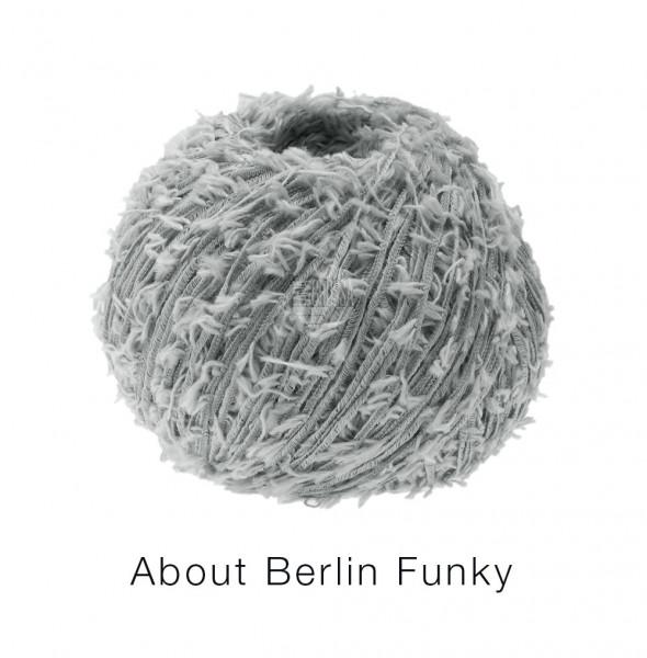 Lana Grossa About Berlin Funky 004 Grau 50g