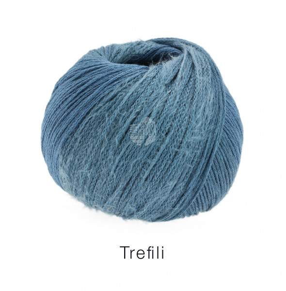 Lana Grossa Trefili 007 Jeans/Graublau 50g