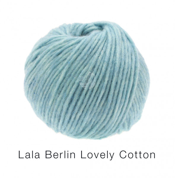 Lana Grossa Lala Berlin Lovely Cotton 001 Bleu 50g