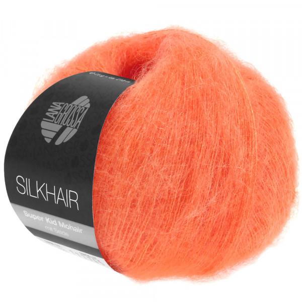 Lana Grossa Silkhair 130 Lachsrot 25g
