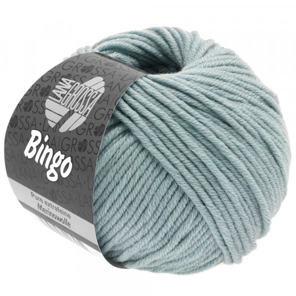 Lana Grossa Bingo 190 Blaugrau 50g