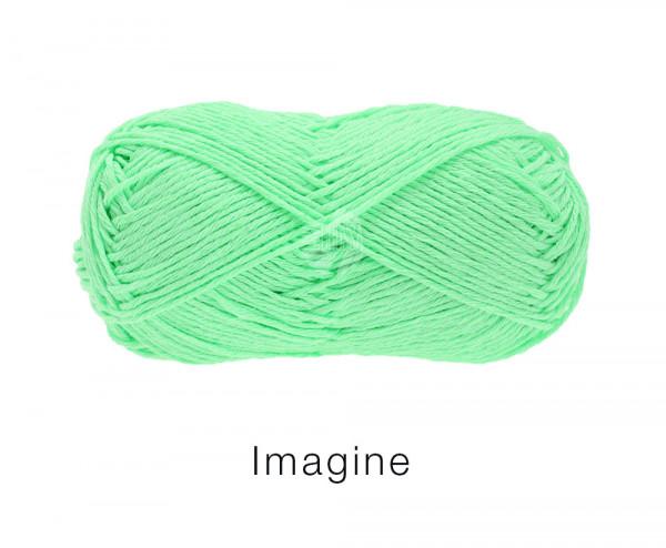 Lana Grossa Imagine 037 helles Papageiengrün 50g