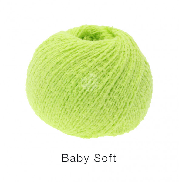 Lana Grossa Baby Soft 029 Hellgrün 50g